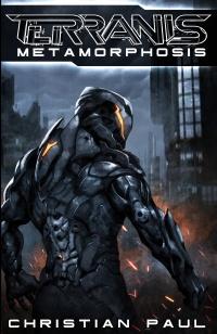 Christian Paul Autor Cyberpunk Roman Terranis 4 Buchcover Metamorphosis 200x309