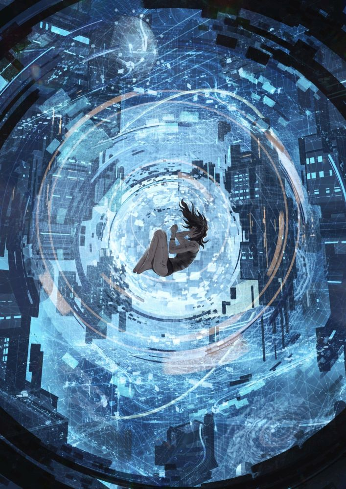 Christian Paul Autor Cyberpunk Terranis Hintergrund Homo Novus 707x1000